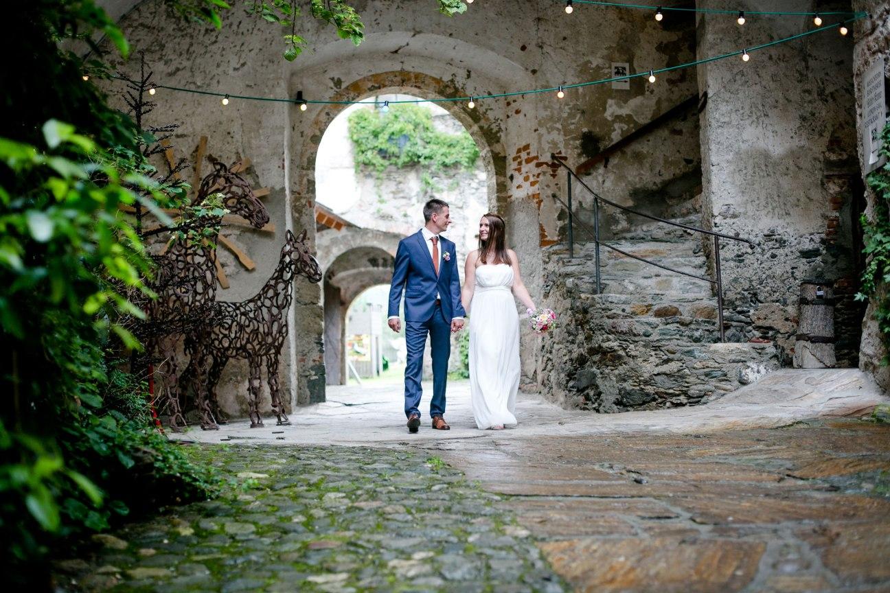 Heiraten auf der Alten Burg Gmünd Fotografie Verena Schön
